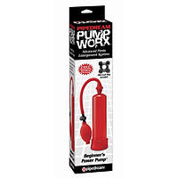 Вакуумная помпа Pump Worx Beginners Power Pump Red