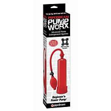 Вакуумная помпа Pump Worx Beginners Power Pump Red