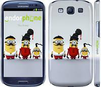 "Чехол на Samsung Galaxy S3 Duos I9300i Миньоны 2 ""294c-50"""