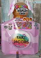 Игровой набор и кейс для хранения фигурок и слаймов пупси слайм, Poopsie Fart Jacobs Play & Display Case, MGA1