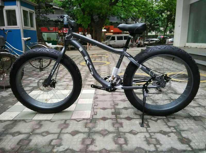 Электровелосипед LKS FATBIKE Electro Rear Drive (черный) (5000950005)