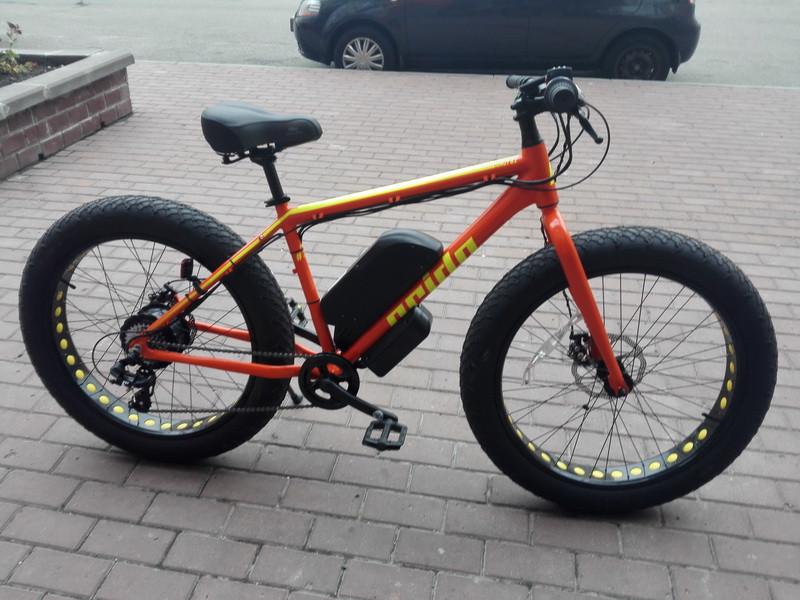 Электровелосипед Pride FatBike 1000W 48V (2018) (5000951332)