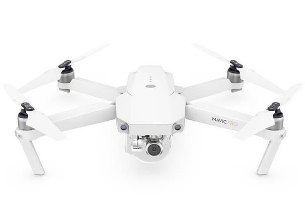 Квадрокоптер DJI Mavic Pro Fly More Combo Alpine White (5000951369), фото 2