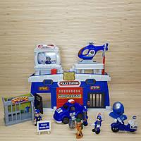 """Игровой набор """"Полицейский участок"""". Звуковые и световые эффекты. 62.5х39.6х11 см. 12635"""