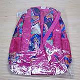 Рюкзак школьный ортопедический для девочки. Абстрактный принт. Производство Польша Link, фото 3