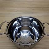 Набор кастрюль из нержавеющей стали. Кастрюли 1.6 л/ 2.3 л/3.0л/3.5 литров, фото 2