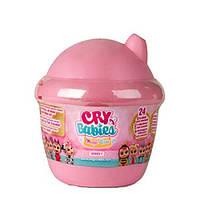 IMC Toys Cry Babies Куколка пупс-сюрприз плачущий малыш в домике 98442 Magic Tears Bottle House