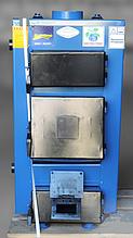 Котел длительного горения на дровах UKS -10 квт (Идмар УКС) с механическим регулятором тяги