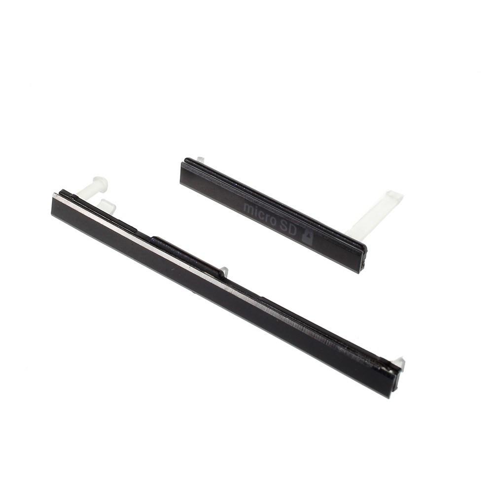 Заглушки для Sony Xperia T2 Ultra D5322 черный