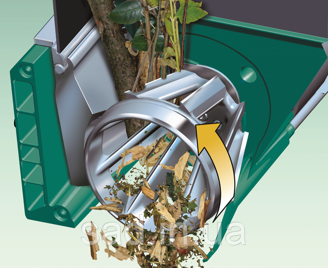 Фрезерная измельчающая система с барабаном