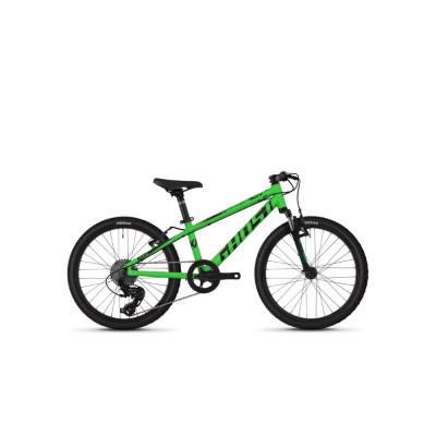 """Велосипед Ghost Kato 2.0 20"""" зелено-черный ,  2019"""