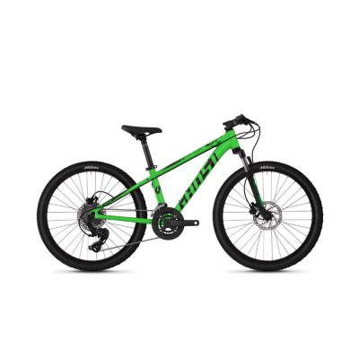 """Велосипед Ghost Kato D4.4 24"""" , зелено-черный, 2019"""