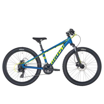 """Велосипед Ghost Kato D4.4 24"""", сине-желтый, 2019"""