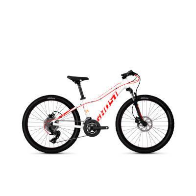 """Велосипед Ghost Lanao D4.4 24"""", бело-красно-оранжевый, 2019, фото 2"""