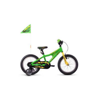 """Велосипед Ghost POWERKID 16"""" , зелено-желто-черный, 2019, фото 2"""