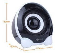 Компьютерные колонки Kisonli U-2300 Desktop Speaker 2.1 USB, фото 1