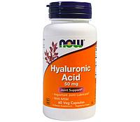 NOW_Hyaluronic Acid 100 мг - 60 веган кап