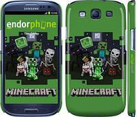 "Чехол на Samsung Galaxy S3 Duos I9300i Minecraft ""773c-50"""