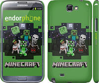 "Чехол на Samsung Galaxy Note 2 N7100 Minecraft ""773c-17"""