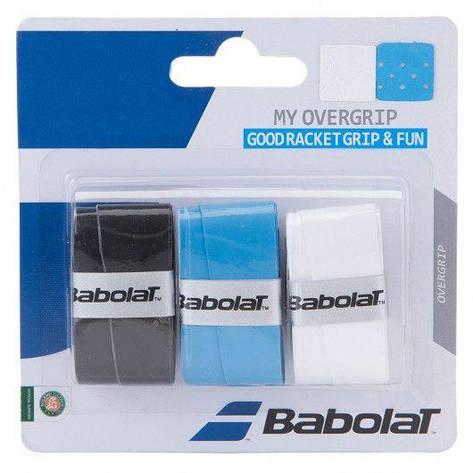 Намотка на ракетку Babolat MY OVERGRIP X3 (Упаковка,3 штуки) 653045/164, фото 2