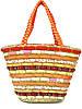 Яркая женская сумка-корзина (два цвета), фото 6