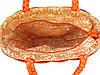 Яркая женская сумка-корзина (два цвета), фото 3