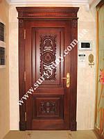 Двери межкомнатные деревянные  - Дверь БАРОККО