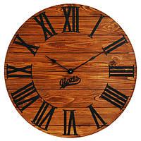 Настенные Часы Лофт Деревянные Glozis Kansas Rust (60 см) [Дерево, Металл]
