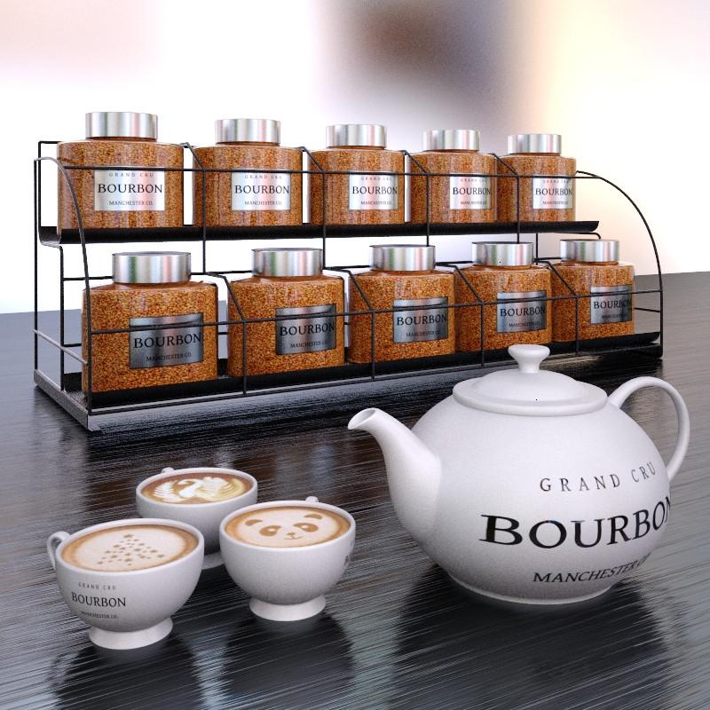 Торговое оборудование для магазина чая и кофе