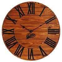 Настенные Часы Деревянные Glozis Kansas Rust (60 см) [Дерево, Металл, Открытые]