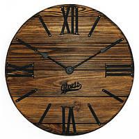 Настенные Часы Деревянные Glozis Nevada Mokko (40 см) [Дерево, Металл, Открытые]