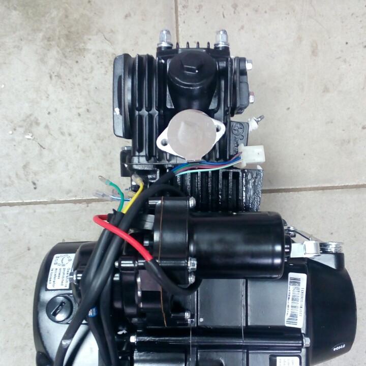 Двигатель Дельта Альфа 110сс
