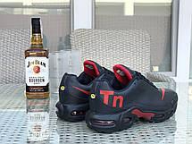 Мужские кроссовки Nike air max TN,темно синие с красным, фото 2