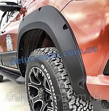 Арки для Toyota Hilux 2015+ Расширители арок на Тойота Хайлюкс 2015-2019 Арки на пикап Хайлюкс 2015-2019