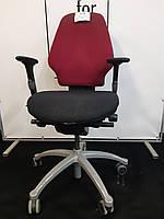 Крісла, Крісло з Європи, Ортопедичне червоно чорне з підлокотниками, фото 1