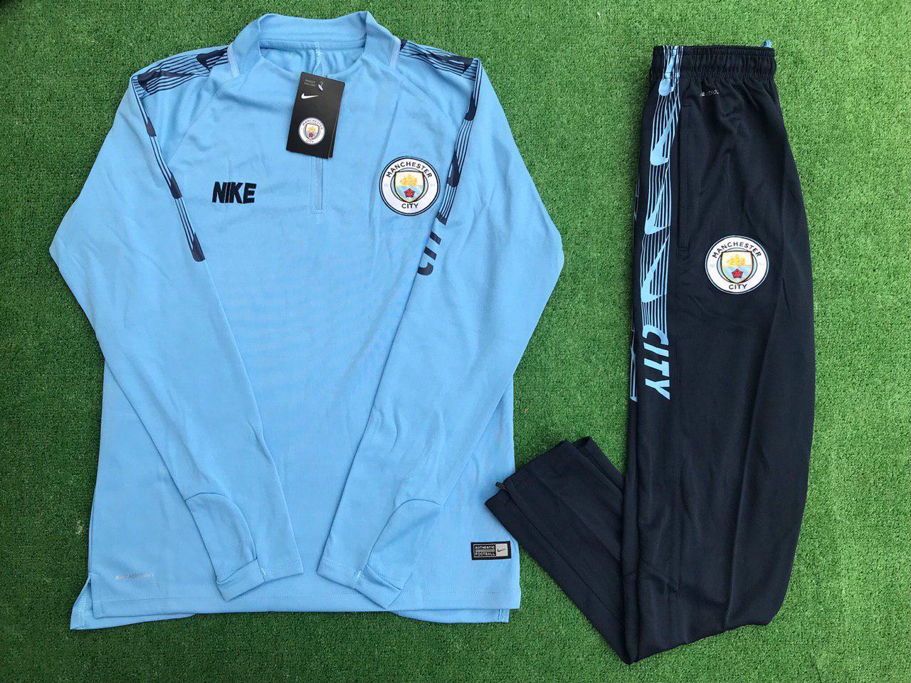 Спортивный (тренировочный) костюм FC Manchester City (реплика)