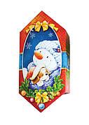 Новогодний сладкий подарок в картонной упаковке №4 250г.