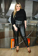 Женские модные леггинсы  ВХ359 (бат), фото 1