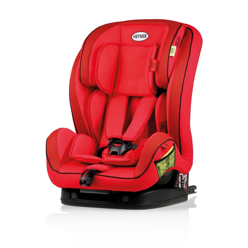 Автокресло Heyner MultiFix Aero+ Racing Red 796 130 с креплением Isofix красное 9–36 кг