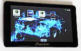 """Автомобильный GPS навигатор 7"""" Pioneer G711 8Gb FM трансмиттер (навигатор пионер с картами навител айгоу), фото 2"""