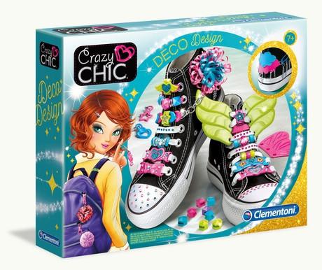 Украшения для обуви Crazy Chic 78524 Clementoni