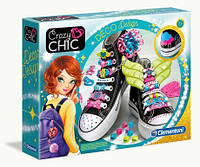 Украшения для обуви Crazy Chic 78524 Clementoni, фото 1