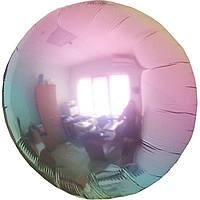 """Фольгированные шары без рисунка  18"""" круг омбре металлик жемчуг (fm) (FlexMetal)"""