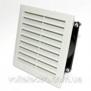Вентилятори з гратами і фільтром 150м3/год, IP54, 150х150