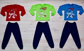 Пижама для мальчика на байке, котон 100%, Украина, Детки- текс, арт. 0310