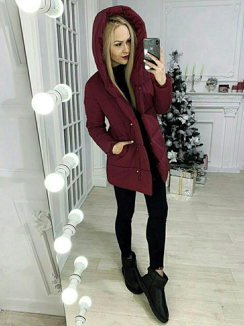 Женская теплая куртка - пуховик  ВХ9258