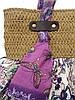 Летняя женская сумка из ткани, фото 2