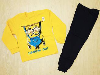Пижама для мальчика на байке, котон 100%, Украина, Детки- текс,  арт. 0311