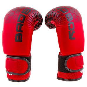 """Боксерські рукавички BadBoy""""жираф"""", DX, 8,10,12 oz, червоний BB-JR10R, фото 2"""