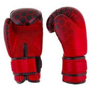 """Боксерские перчатки BadBoy""""жираф"""", DX, 8,10,12oz, красный  BB-JR10R, фото 2"""